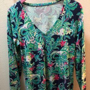 Lilly Pulitzer long sleeve shirt
